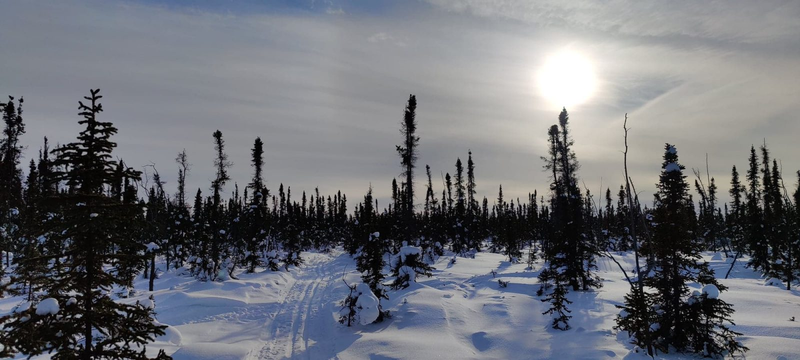 The D'Hont Trail during the 2020-21 season. Ollie Williams/Photo